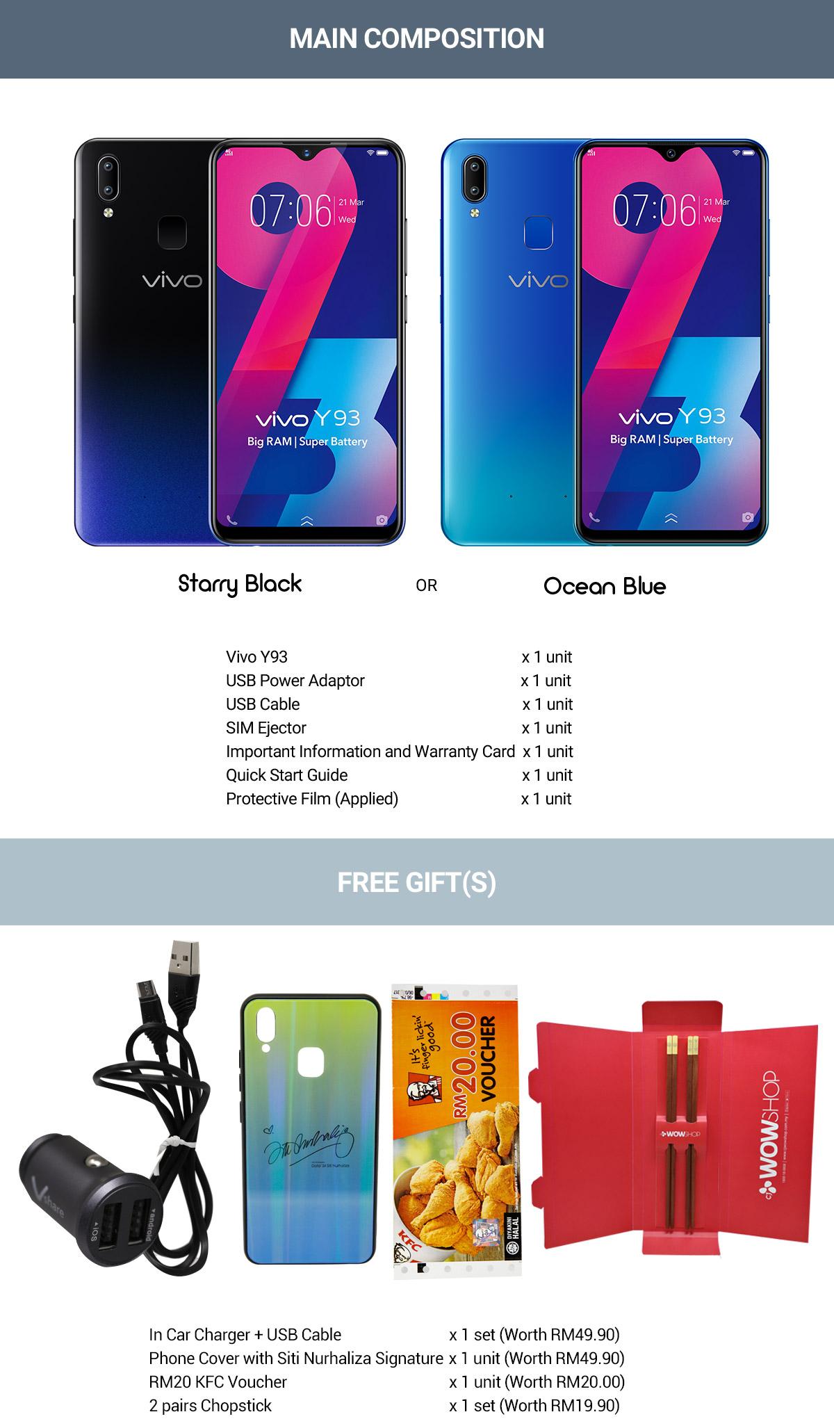 Vivo Y93 Smart Phone