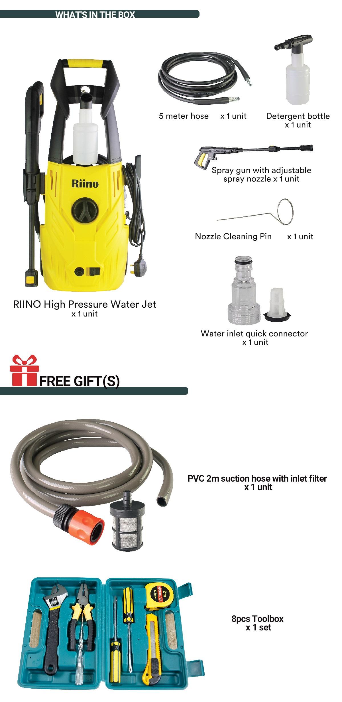 RIINO High Pressure Water Jet
